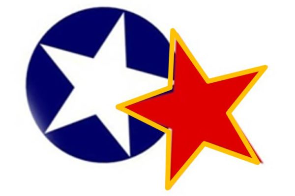 Bele zvezde proti rdečim