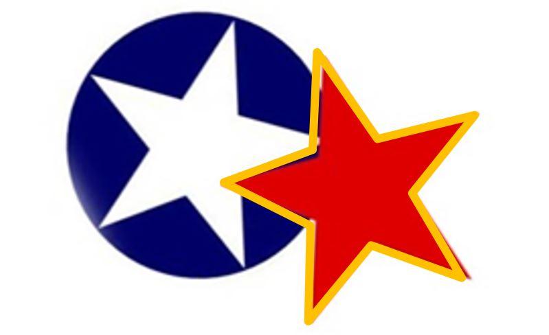 Ameriško sovjetski zračni spopad nad Jugoslavijo. Bele zvezde proti rdečim prvič.