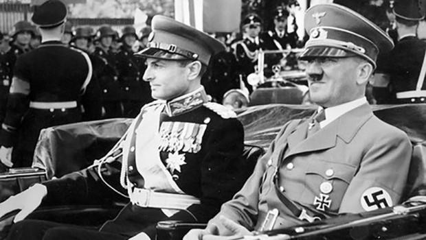 Knez Pavel na pogajanjih pri Hitlerju