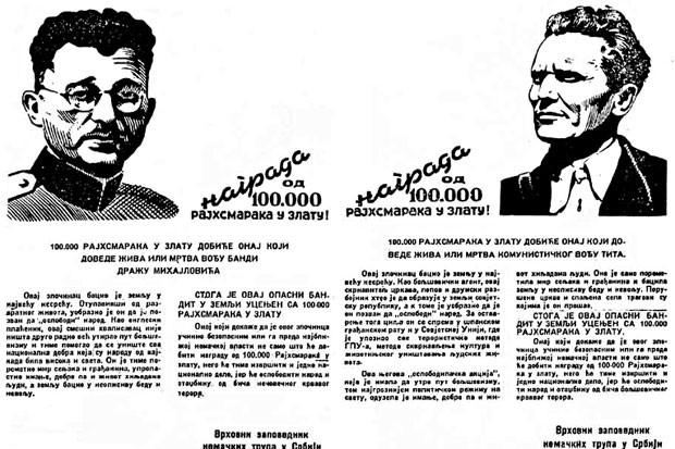 Tiralici: Dragoljub Mihailović in Tito