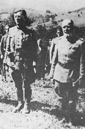 polkovnik Draža in rezervni major akademik Dragiša Vasić