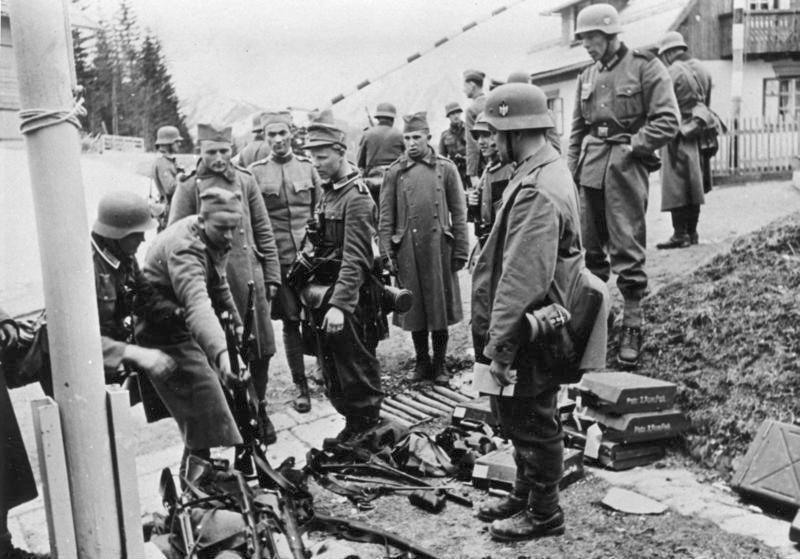Predaja jugoslovanske kraljeve vojska Nemcem