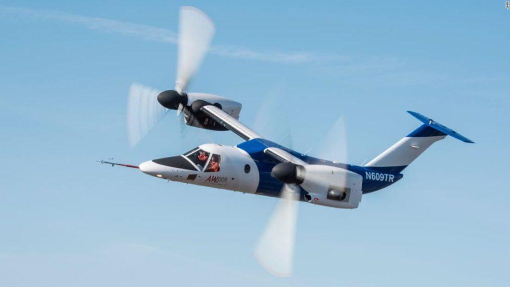 AW609 VTOL letalna naprava