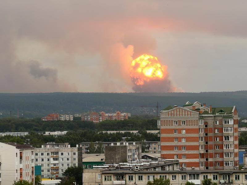 Arkhangelsk eksplozija