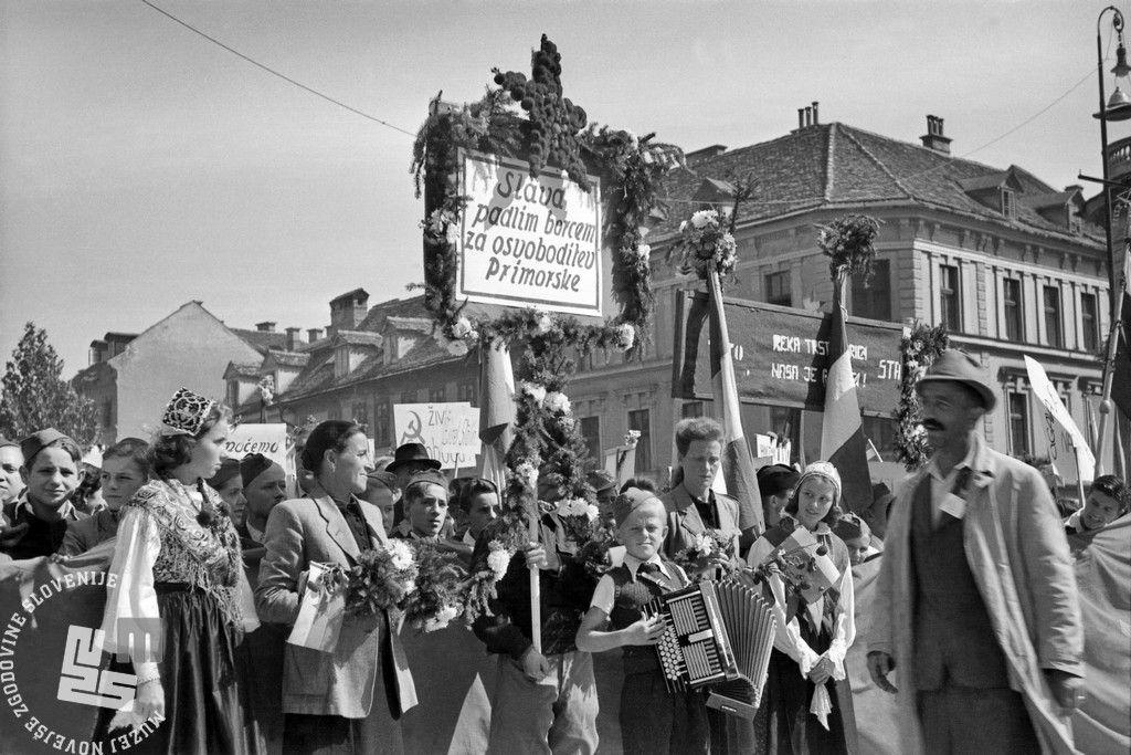 Slava padlim borcem za osvoboditev Primorske