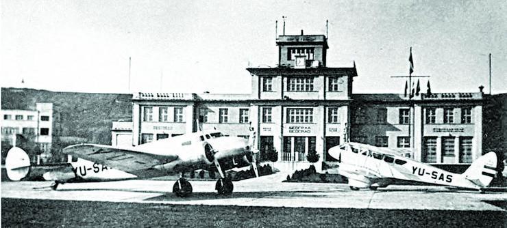 Staro beograjsko letališče iz leta 1927