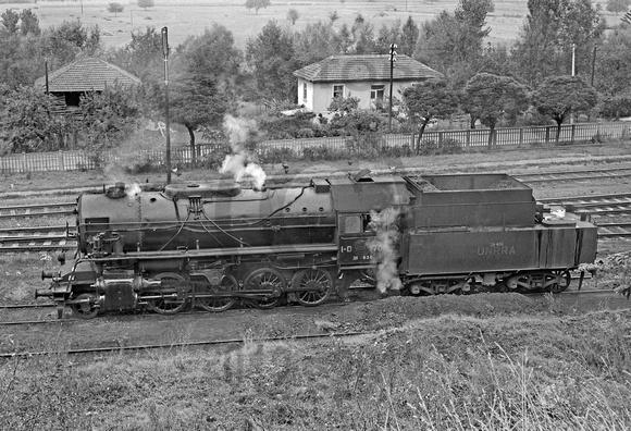 Ena izmed 237 lokomotiv UNRRA za Jugoslavijo