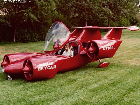 Leteči avto Moller Skycar M400