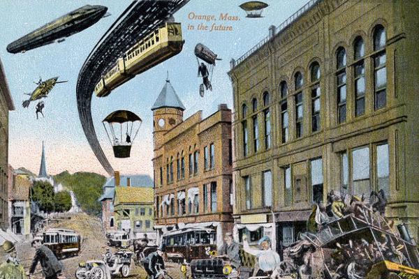 Leteči avtomobil in mestni zračni promet