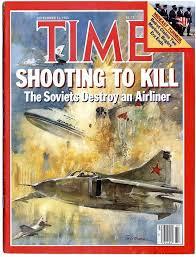Time naslovnica, sestrelitev potniškega letala